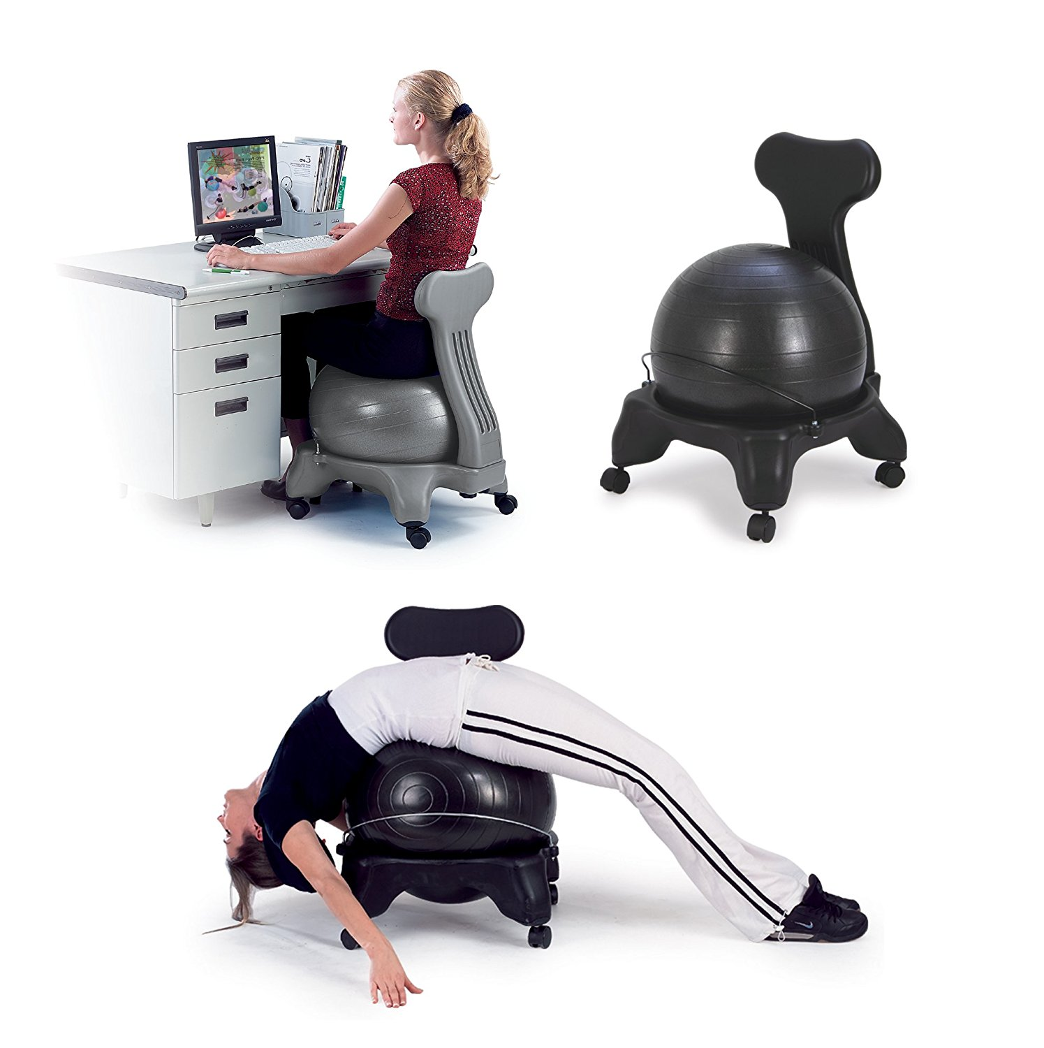 Best Exercise Balance Ball Chairs Review 2017