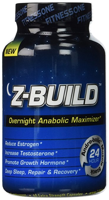 Z-BUILD--OVERNIGHT MUSCLE BUILDER--60 Capsules