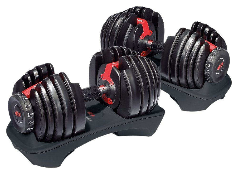 bowflex adjustable dumbbells review