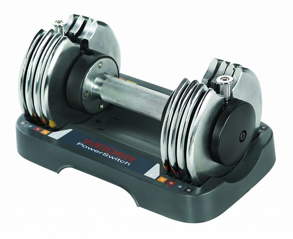 weider adjustable dumbbells