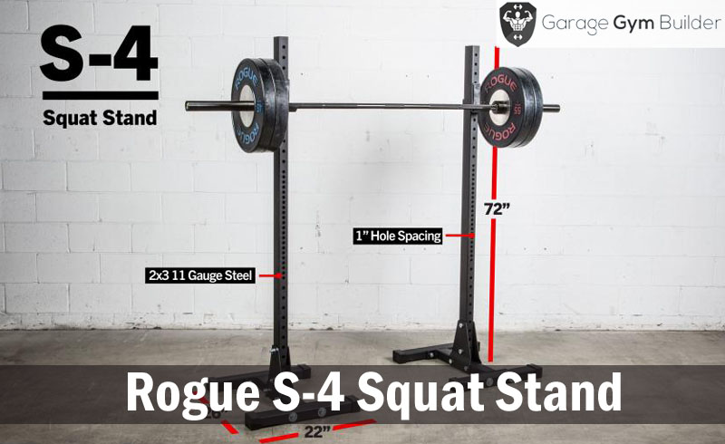 Rogue S-4 Squat Stand Review