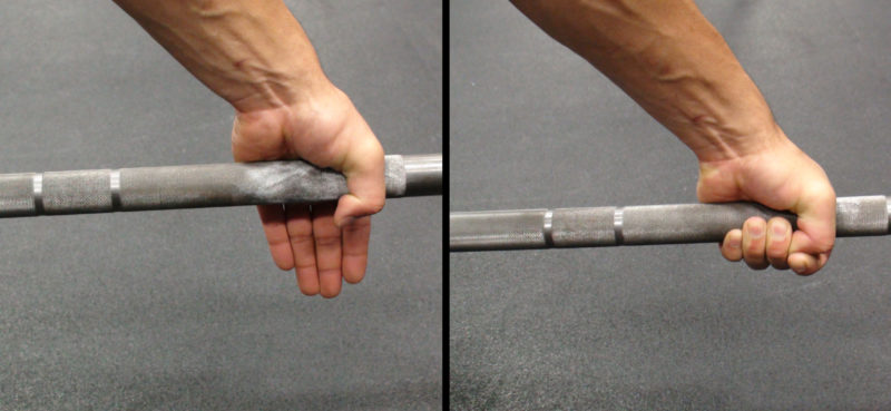Inconsistent Grip Width