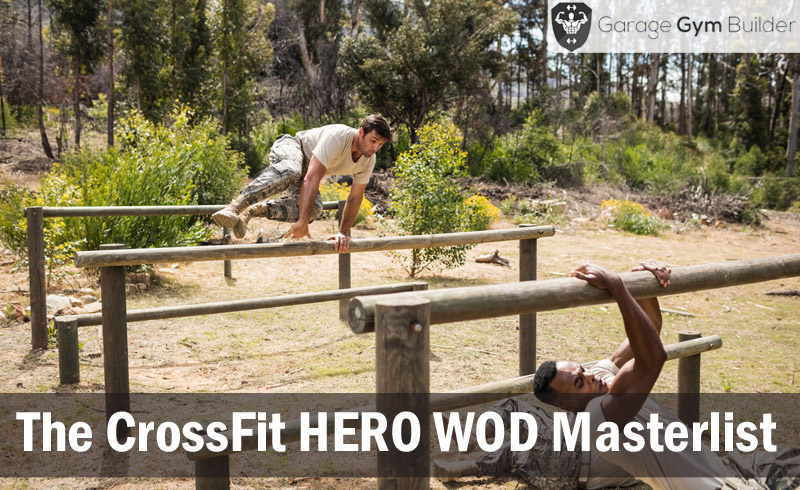 The CrossFit HERO WOD Masterlist