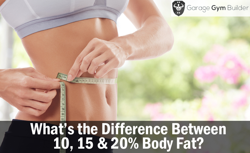 What's the Difference Between 10, 15 & 20% Body Fat