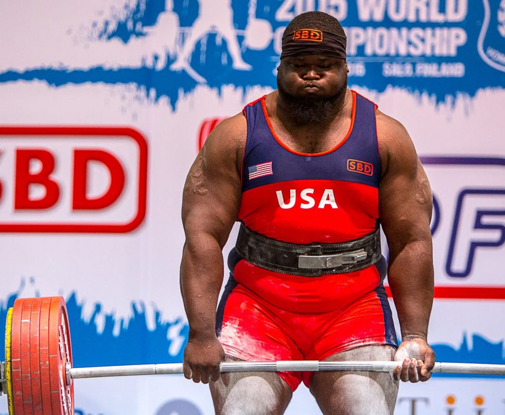 Olympic Record Powerlifting