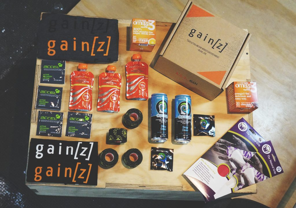 GAINZ Box products