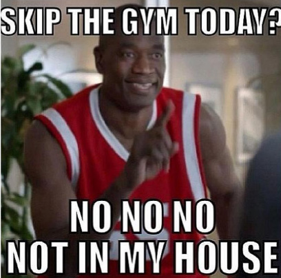 skip the gym today