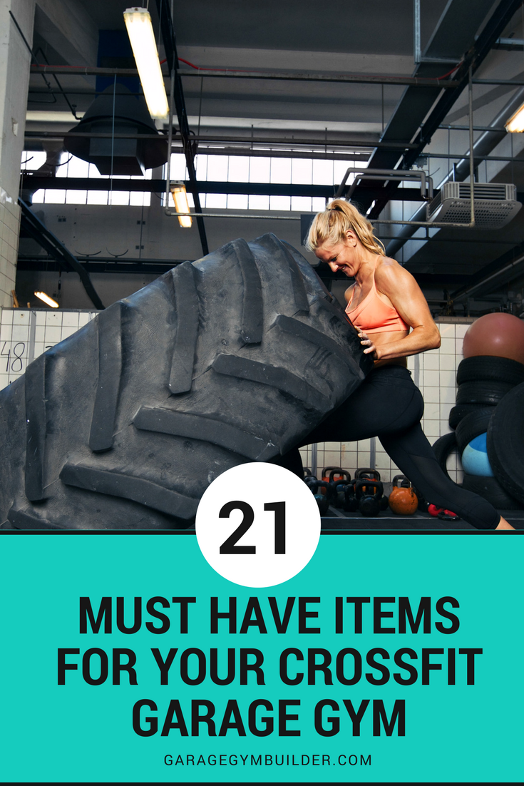 Must have items for your crossfit garage gym january