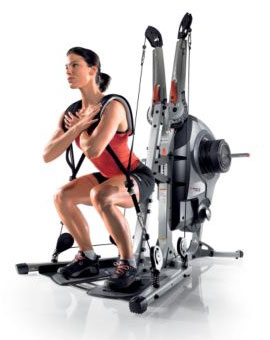 Bowflex Revolution exercise range