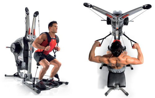 Bowflex Revolution full body workout