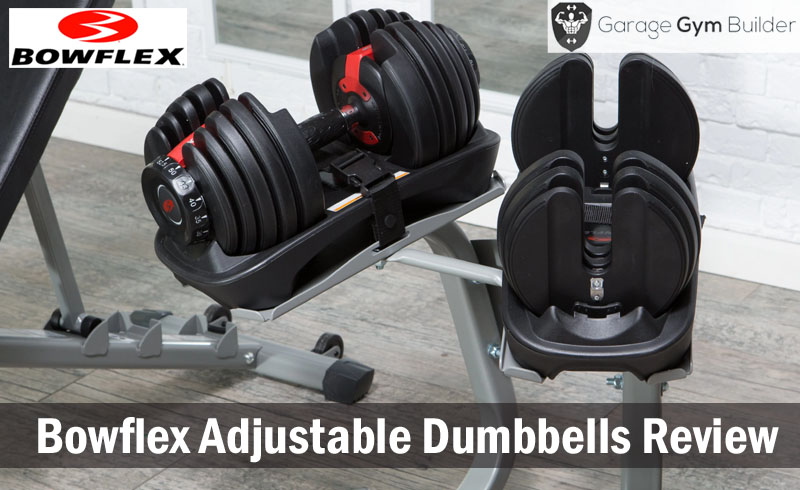 Home garage gym bayou fitness lb adjustable dumbbells pair