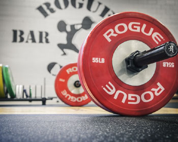 Rogue fitness barbell