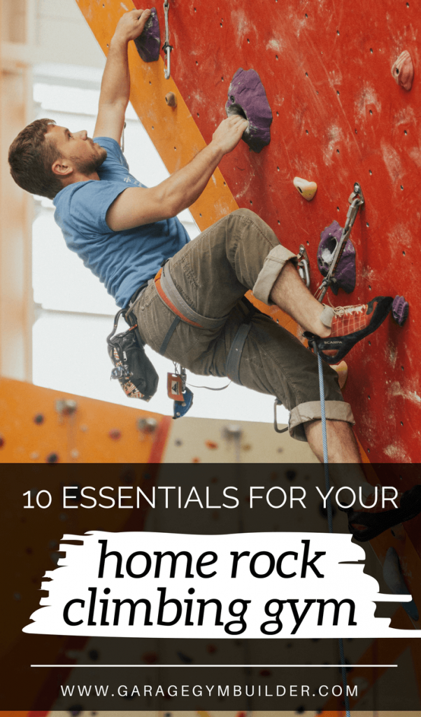 Indoor rock climbing is finding huge appeal as an adrenaline pumping workout option. As a result, rock climbing gyms are popping up all over the place. But you don't have to wait for a facility to open near you. Create your own rock climbing gym in your basement. It'll get the kids off the computer and it will put all of the benefits of the rock climbing workout at your finger tips.