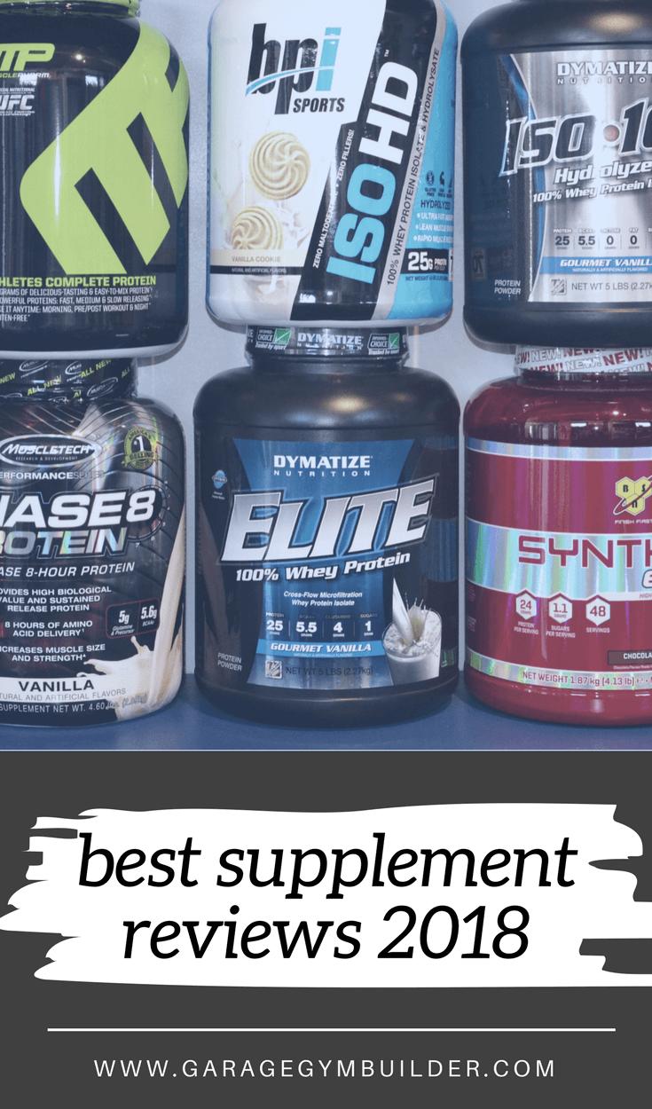 Supplementation is a vital part of the nutritional equation. Knowing the supplements that actually work for pre and post workout, fat loss and muscle building are key to maximum performance and results. This mega article brings together the best supplements to get you jacked in 2018.