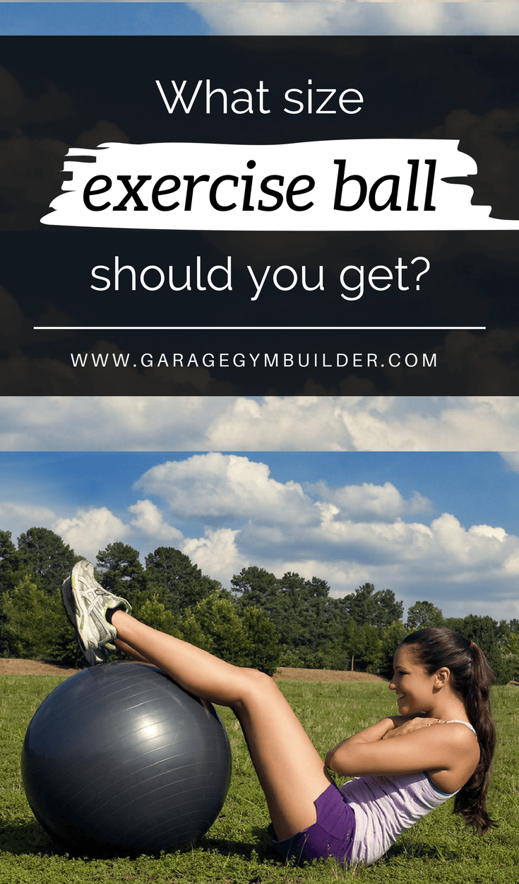 An exercise ball is one of the best single pieces of exercise equipment you can buy for your home gym. It terms of cost, strength training, stretching, balance and core focused training it can't be beat. Unless, you get the proper fitness ball size, however, much of your balance ball benefits will be lost. In this article, we show you how to choose a stability ball size to suit your needs.