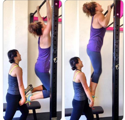 Partner Assisted Pull Ups