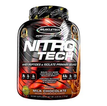 image of MuscleTech NitroTech protein rich supplement