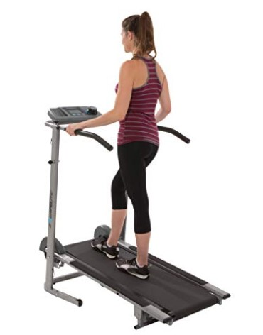 Exerpeutic 100XL Manual Magnetic Treadmill