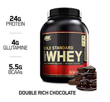 image of Optimum Nutrition 100% Whey protein supplement