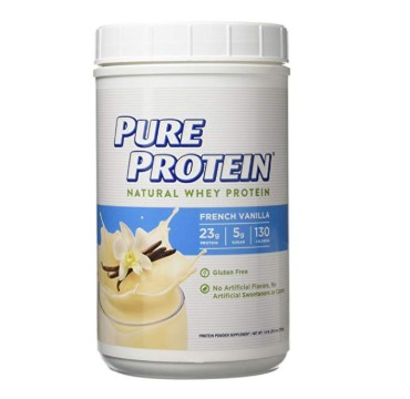 image of Pure Protein Natural Whey supplement
