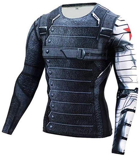image of Cosfunmax long-sleeved compression shirt