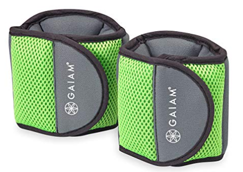 image of Gaiam ankle weights
