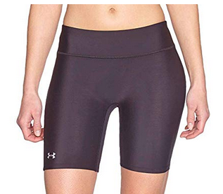 image of Under Armour HeatGear women's compression shorts
