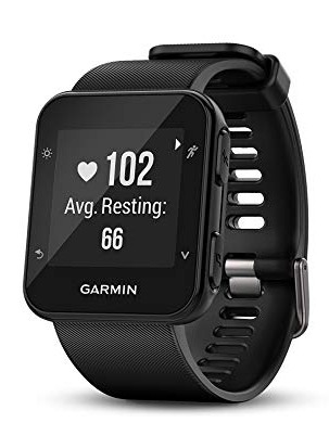 image of garmin forerunner heart rate monitor device for wrist