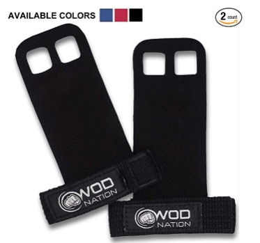 WOD Nation Leather Barbell Gymnastics Grips