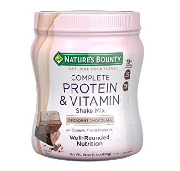 Nature's Bounty Optimal Solution for working out