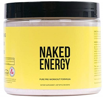 Naked Energy: Natural Pre Workout Supplement