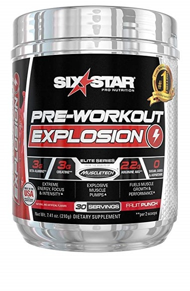Six Star Pre Workout Explosion