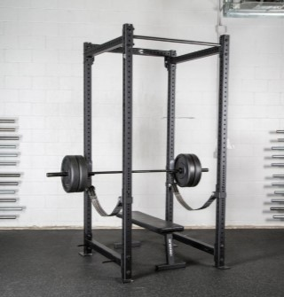 RML-4100 with safety straps and barbell