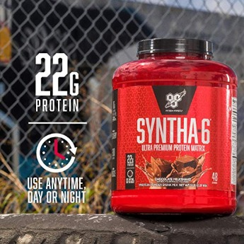 Syntha 6 promotes effective workouts and recovery.