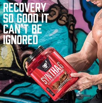 Syntha 6 can help reduce post-workout soreness.