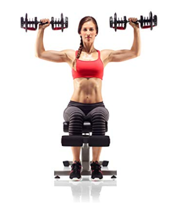 The Bowflex SelectTech 552 dumbbells have hand friendly molding on the plates.