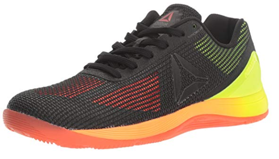 The Reebok Nano 7.0 has a plastic heel cup and outer Nanoweave.