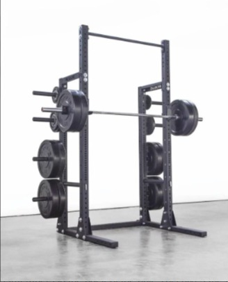 The Rogue HR-2 Half Rack offers many upgrades and attachments.