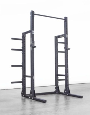 The Rogue HR-2 rack offers plate storage.