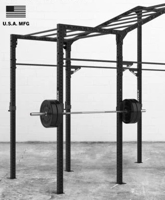 The Rogue Monkey Rig has 10 pull up stations.