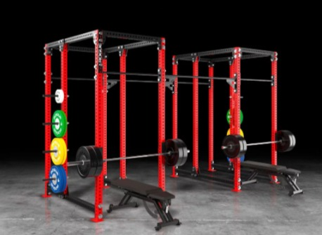 The Rogue Monster Rig 2.0 offers multiple slots for bench work.
