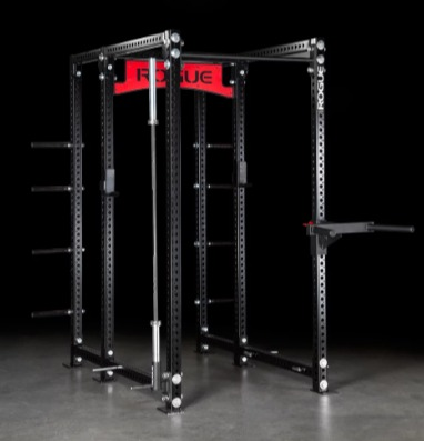 The Rogue RM-6 rack is compatible with all Monster attachments.