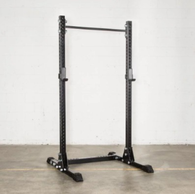 The Rogue SM-2 squat stand offers a fat or skinny pull up bar.