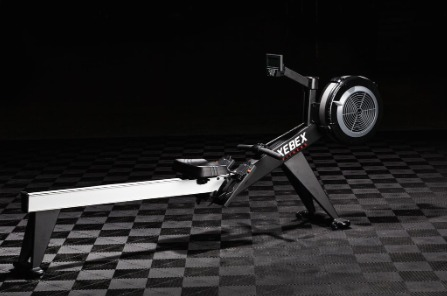 The Xebex Air Rower is stable thanks to a heavy frame.