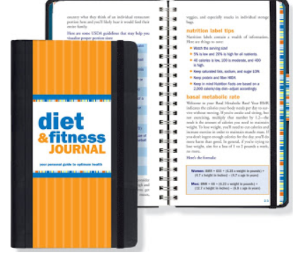 Diet and Fitness Journal/Diary