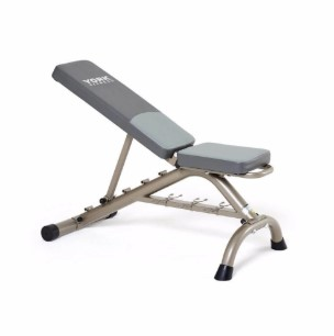 York Barbell Bench half inclined