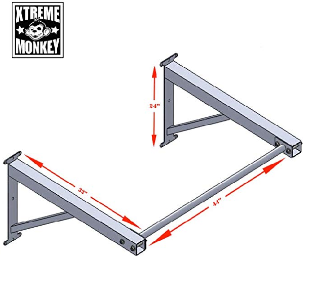 Xtreme Monkey Pull-up Bar Dimensions