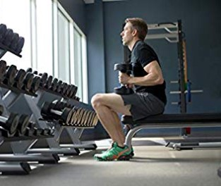 Precor Adjustable Bench Sitting Workout