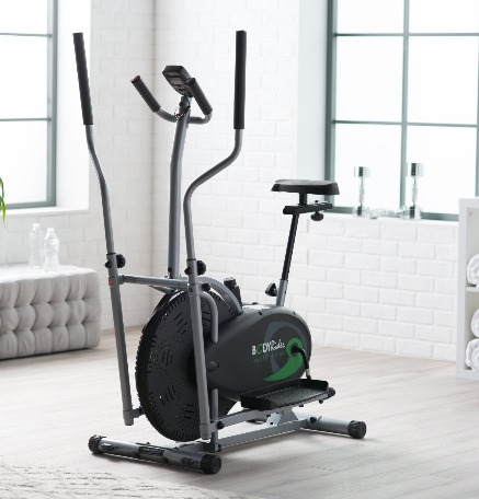 The Body Rider Deluxe Dual Trainer is lightweight and compact.