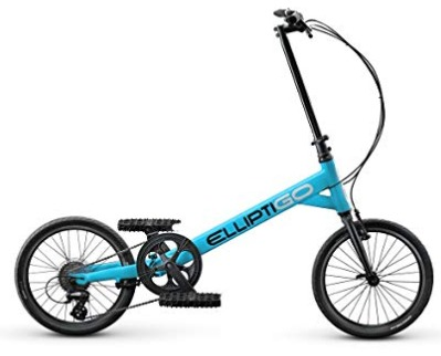 The ElliptiGO SUB outdoor elliptical bike is stylish and lightweight.